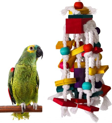 RYPET Parrot Chewing Toy | Parrot Toys