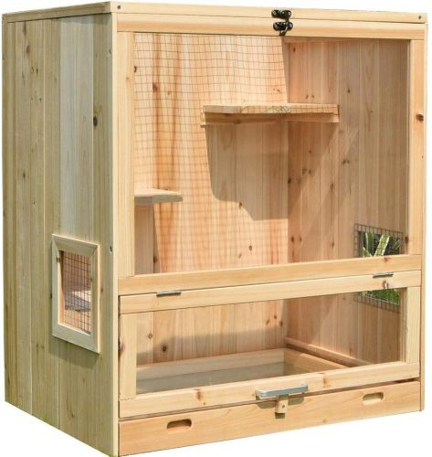 Indoor Small Animal Cage Wooden