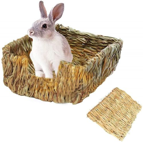 Tfwadmx Rabbit Grass Bed | Rabbit Shelters