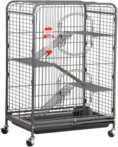 Topeakmart 4 Levels Ferret Cages| Chinchilla Cages