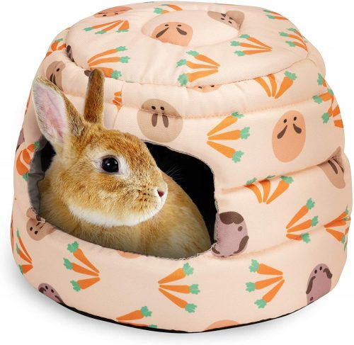 Niteangel Guinea Pig Bed Big Hide-Out | Pet Mat for Bunny