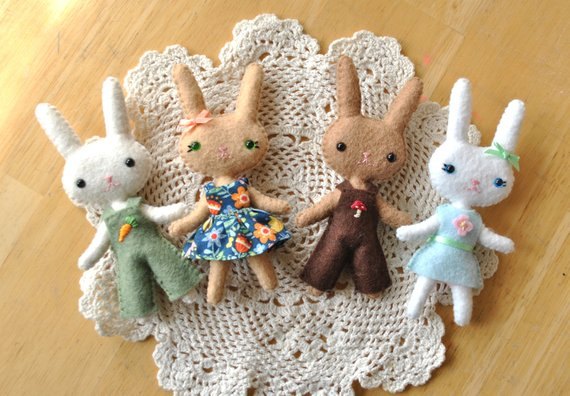 Rag Doll | Homemade Toy For Rabbits