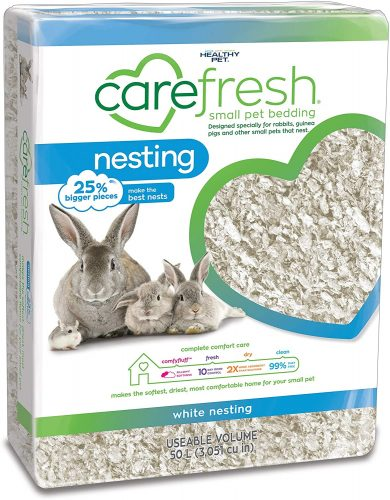 Carefresh 99% Dust-Free Bedding | Hedgehog Safe Bedding