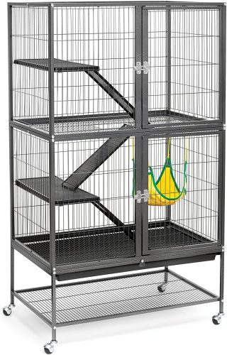 Prevue Hendryx Black Feisty| Hedgehog Cages