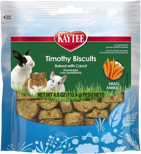 Kaytee Timothy Biscuits Baked Carrot Treat| Mini Pig Treats